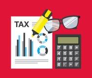 付税 免版税库存图片