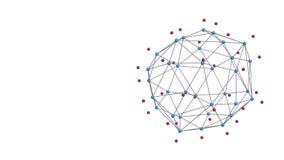 稳定的抽象几何多角形结构 向量例证