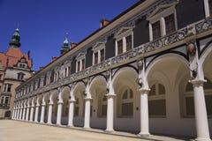稳定的围场施塔尔霍芬,德累斯顿 免版税库存照片