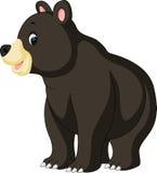 滑稽熊的动画片 向量例证