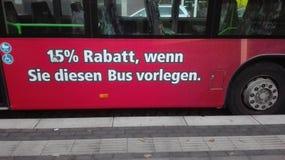 滑稽的公共汽车 图库摄影