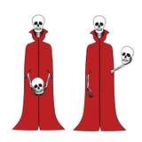 滑稽的动画片骨骼 库存照片