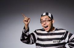 滑稽的囚犯 图库摄影