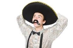 滑稽的墨西哥人 免版税库存图片