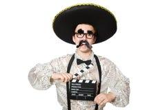 滑稽的墨西哥人 库存照片