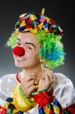 滑稽的小丑 图库摄影