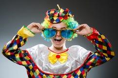 滑稽的小丑 库存照片