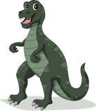 滑稽的恐龙动画片 免版税图库摄影