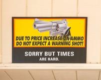 滑稽的标志 免版税库存照片