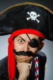 滑稽的海盗 图库摄影