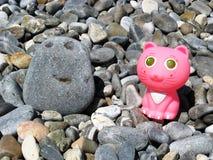 滑稽的海滩玩具 免版税库存图片