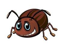 滑稽的甲虫 库存图片