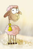 滑稽的白羊星座 库存图片