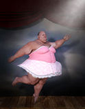 滑稽的芭蕾舞女演员,芭蕾舞蹈,舞蹈家 免版税库存图片