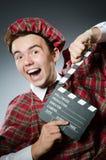 滑稽的苏格兰男子 免版税库存图片