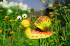 滑稽的蜗牛 库存照片