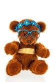 滑稽的被充塞的熊 库存图片