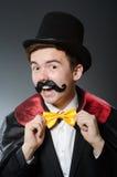 滑稽的魔术师 库存图片