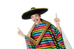 滑稽的年轻墨西哥人 库存图片