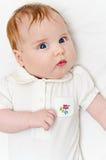 滑稽的婴孩 免版税库存图片