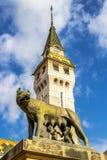 穆列什县专区Targu的穆列什县,罗马尼亚 免版税库存照片