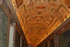 穆塞伊vaticano,罗马 库存图片