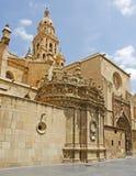 穆尔西亚大教堂 免版税库存照片