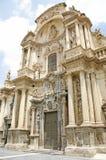 穆尔西亚大教堂 图库摄影