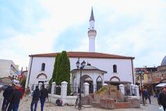 穆拉特巴夏清真寺,斯科普里,马其顿 库存图片