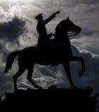 穆斯塔法凯末尔阿塔图尔克纪念碑在伊兹密尔土耳其 免版税库存图片