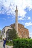 穆斯塔法巴夏清真寺,斯科普里,马其顿 免版税库存照片