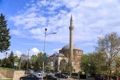 穆斯塔法巴夏清真寺,斯科普里,马其顿 免版税库存图片