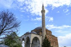 穆斯塔法巴夏清真寺,斯科普里,马其顿 库存图片