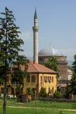 穆斯塔法巴夏` s清真寺在市斯科普里,马其顿共和国 免版税图库摄影