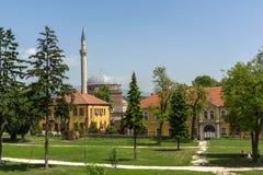 穆斯塔法巴夏` s清真寺在市斯科普里,马其顿共和国 库存照片