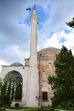穆斯塔法巴夏清真寺在斯科普里,马其顿 库存图片