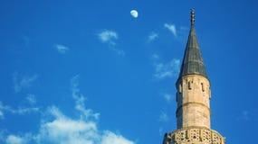 穆斯塔法巴夏清真寺斯科普里 免版税库存图片