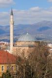 穆斯塔法巴夏清真寺,斯科普里马其顿 免版税库存照片