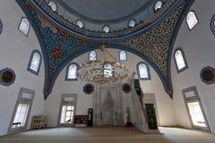 穆斯塔法巴夏清真寺,斯科普里,马其顿内部  库存图片
