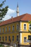 穆斯塔法巴夏` s清真寺在斯科普里,马其顿共和国 免版税库存图片