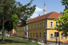 穆斯塔法巴夏` s清真寺在斯科普里,马其顿共和国 库存图片