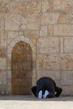 穆斯林为地球祈祷 免版税库存图片
