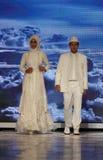 穆斯林礼服 免版税图库摄影