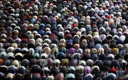 穆斯林祈祷 免版税库存照片