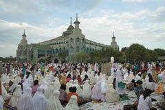穆斯林祈祷 库存图片