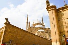 穆罕默德・阿里-开罗清真寺  免版税库存照片