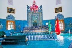 穆罕默德一世亦称绿色清真寺清真寺在伯萨土耳其 库存照片
