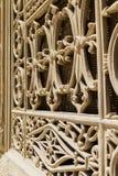 穆罕默德阿里清真寺的一个古老窗口在埃及 免版税库存图片