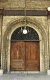 穆罕默德阿里清真寺一个门户  免版税库存图片