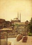 穆罕默德阿里清真寺在开罗,埃及 免版税库存照片